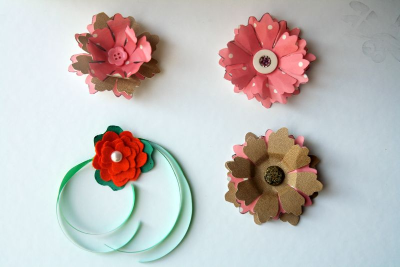 Abstract mullen crafts for Small flowers for crafts