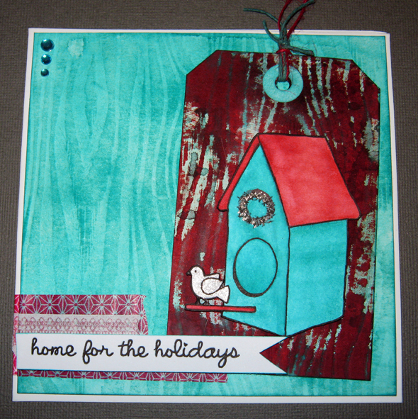 birdhouse card small