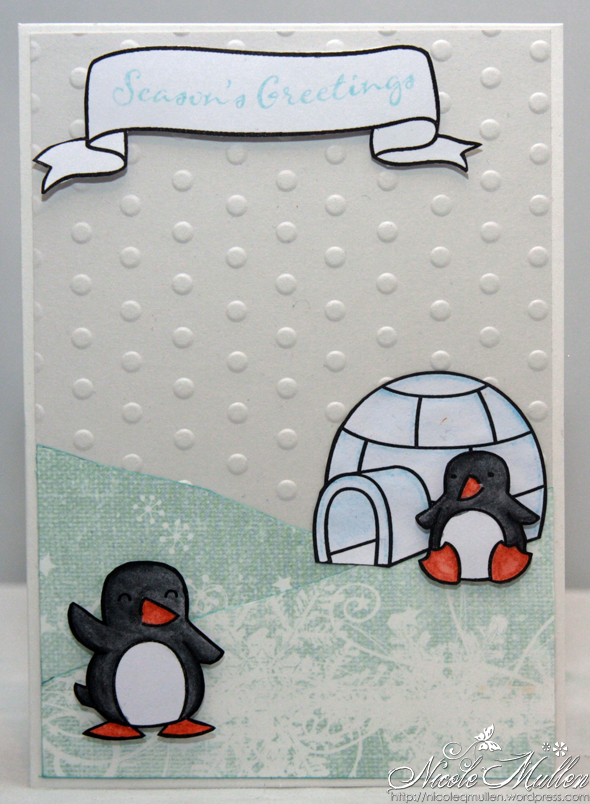 penguin card 2