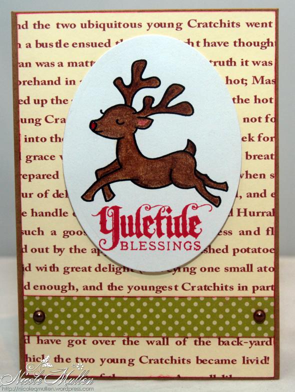 reindeer card 2