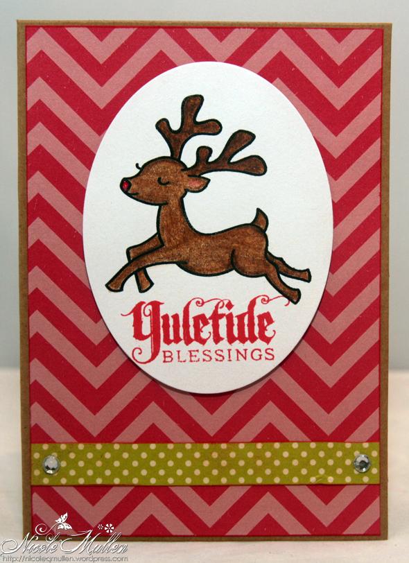 reindeer card 3