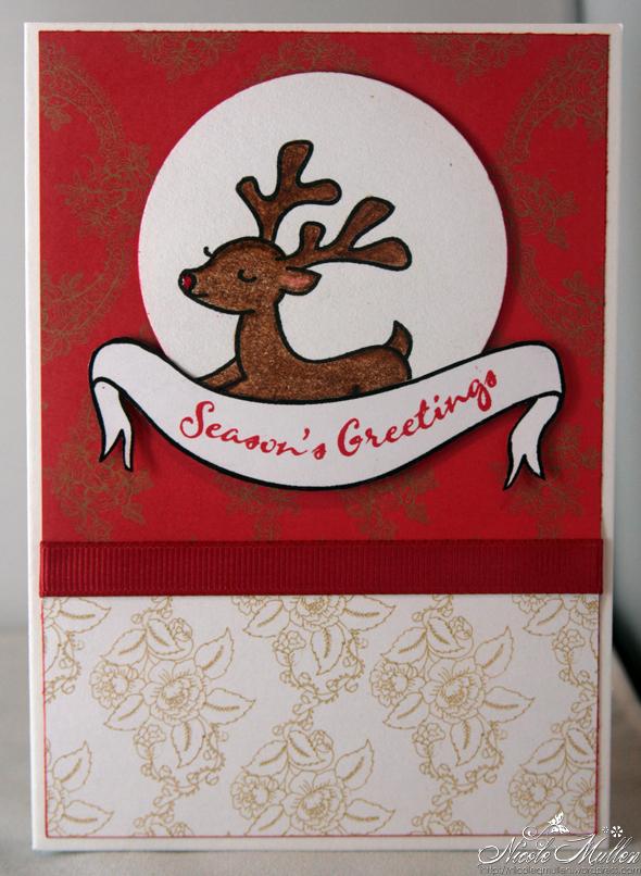 reindeer card 5