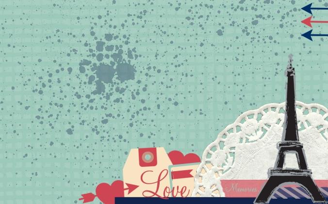 i love paris desktop background