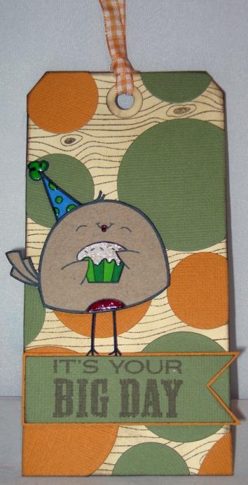 cupcake birdie