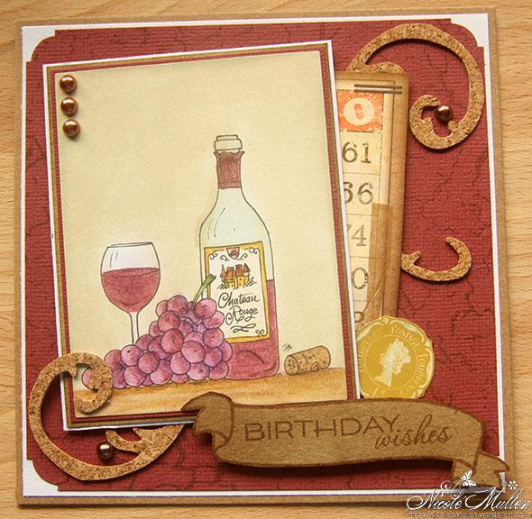wine bottle birthday