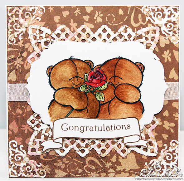 engagement bears card