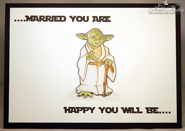 Star wars wedding card mullen crafts