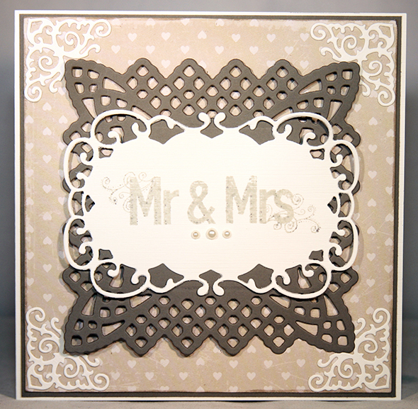 wedding card mr and mrs