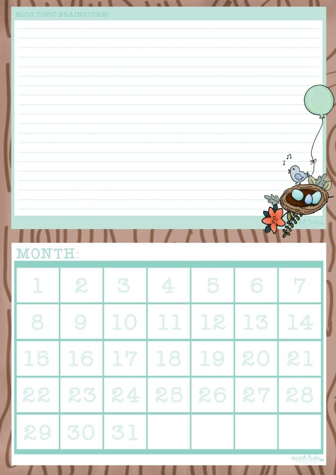 blog planner complete