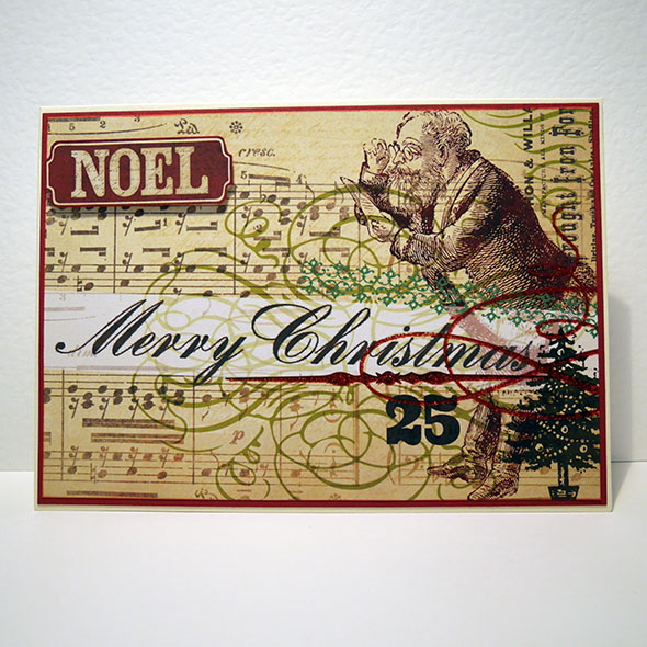 santa noel vintage