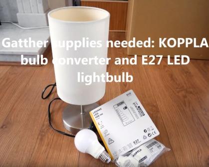 lamp installation image