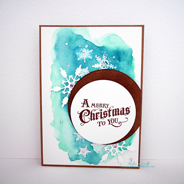 march christmas card