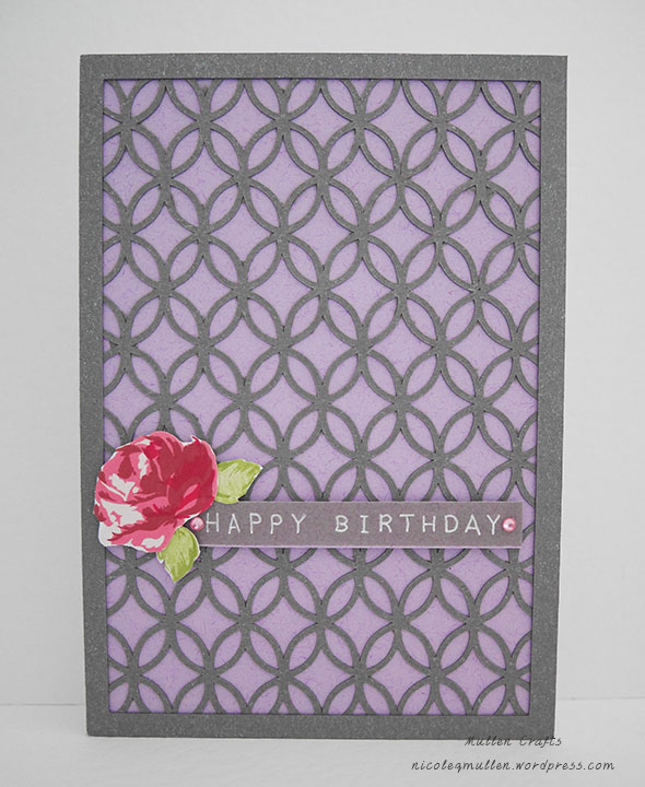flecked lilac