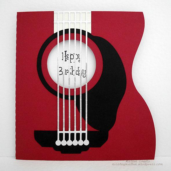 guitar card